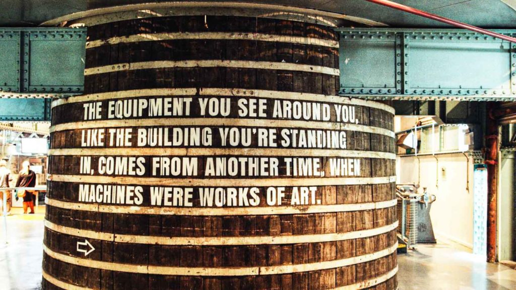Guinness Storehouse inside