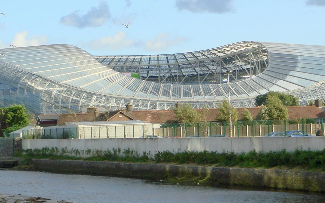 Aviva Stadium, home of Ireland's rugby team
