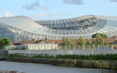 Aviva Stadium, home of Ireland's rugby team