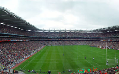Croke Park Stadium, one of the largest in Europe
