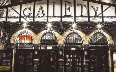 The Gaiety Theatre, opera and musical productions
