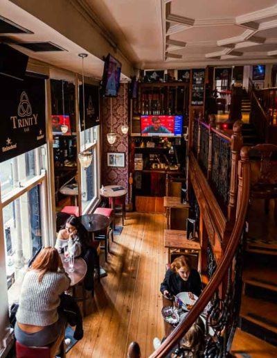 Trinity Bar spaces