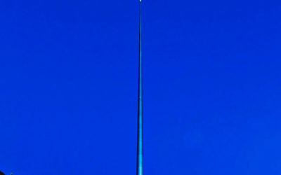 The Spire of Dublin, the monument of light