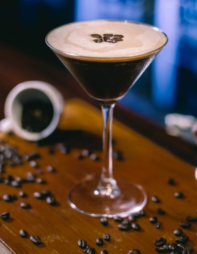 Dublin Citi Hotel Espresso Martini with Coffee Beans